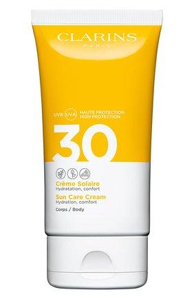 Женский солнцезащитный крем для тела spf 30 CLARINS бесцветного цвета, арт. 80050651 | Фото 1