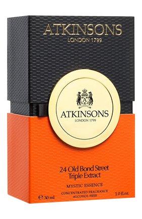 Женский парфюмерное масло 24 old bond street triple extract ATKINSONS бесцветного цвета, арт. 8002135158054   Фото 2