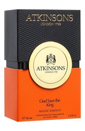 Женский парфюмерное масло oud save the king ATKINSONS бесцветного цвета, арт. 8002135158108   Фото 2