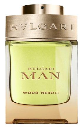 Мужской парфюмерная вода man wood neroli BVLGARI бесцветного цвета, арт. 40390BVL | Фото 1