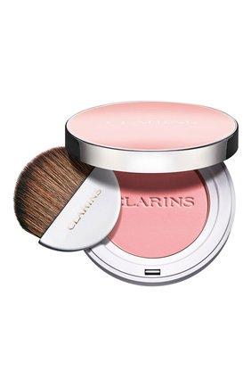Женские компактные румяна joli blush, оттенок 01 CLARINS бесцветного цвета, арт. 80051345 | Фото 1