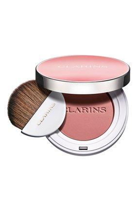 Женские компактные румяна joli blush, оттенок 03 CLARINS бесцветного цвета, арт. 80051347 | Фото 1