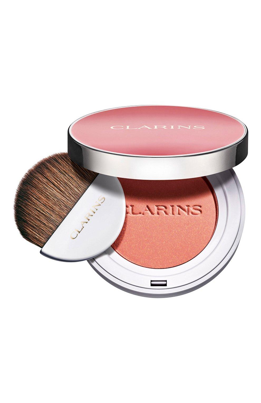 Женские компактные румяна joli blush, оттенок 05 CLARINS бесцветного цвета, арт. 80051349   Фото 1