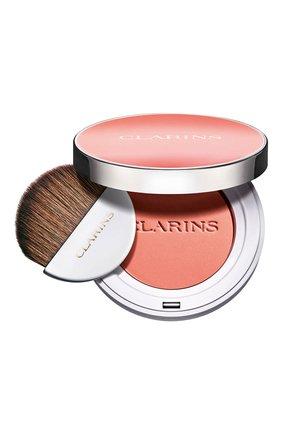 Женские компактные румяна joli blush, оттенок 06 CLARINS бесцветного цвета, арт. 80051350 | Фото 1