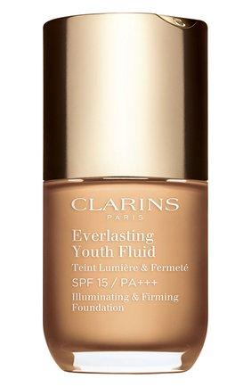 Женское устойчивый тональный флюид everlasting youth fluid spf 15, оттенок 106 CLARINS бесцветного цвета, арт. 80053007 | Фото 1