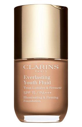Женское устойчивый тональный флюид everlasting youth fluid spf 15, оттенок 109 CLARINS бесцветного цвета, арт. 80053012 | Фото 1