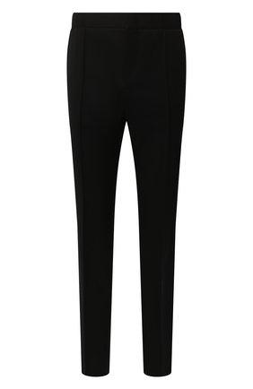 Мужской шерстяные брюки BERLUTI черного цвета, арт. R13TCU22-WAPV | Фото 1