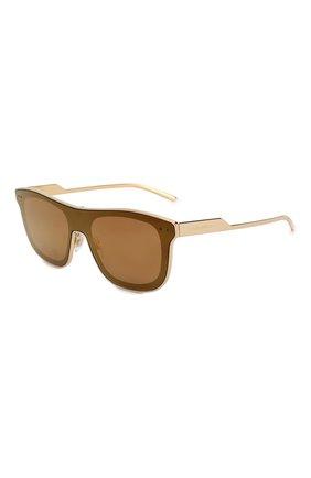 Мужские солнцезащитные очки DOLCE & GABBANA золотого цвета, арт. 2174-02/F9 | Фото 1