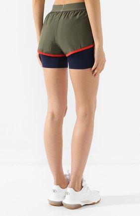 Женские шорты TOMMY SPORT зеленого цвета, арт. S10S100262   Фото 4