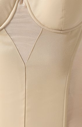 Женский корсет BURBERRY бежевого цвета, арт. 8016641 | Фото 5
