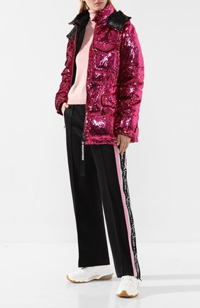 Женские брюки с лампасами MARC JACOBS (THE) черного цвета, арт. M4007920 | Фото 2