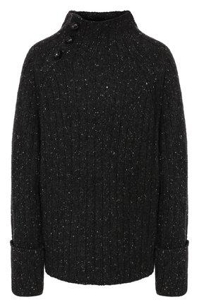 Женская свитер из смеси шерсти и вискозы RAG&BONE темно-серого цвета, арт. WAS19FS011XP11   Фото 1