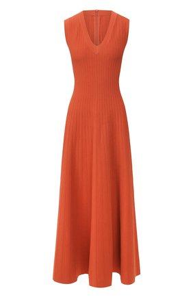 Женское платье-миди CASASOLA оранжевого цвета, арт. DRS11C8 | Фото 1