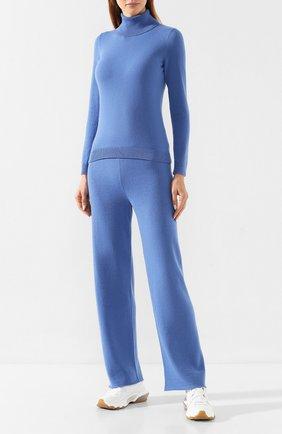 Женская кашемировая водолазка IL BORGO CASHMERE синего цвета, арт. 54-1385G0 | Фото 2 (Длина (для топов): Стандартные; Статус проверки: Требуются правки, Проверена категория; Материал внешний: Кашемир, Шерсть; Рукава: Длинные; Женское Кросс-КТ: Водолазка-одежда)