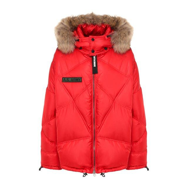 Пуховая куртка AS65