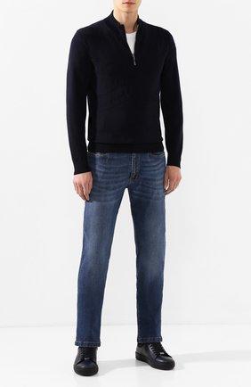Мужские джинсы BILLIONAIRE синего цвета, арт. MDT1718 | Фото 2