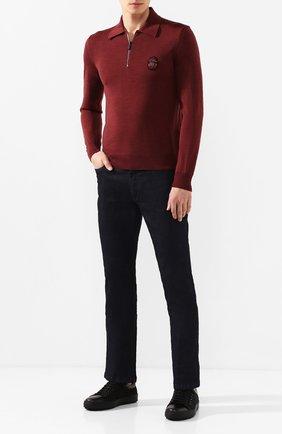Мужские джинсы BILLIONAIRE темно-синего цвета, арт. MDT1748 | Фото 2