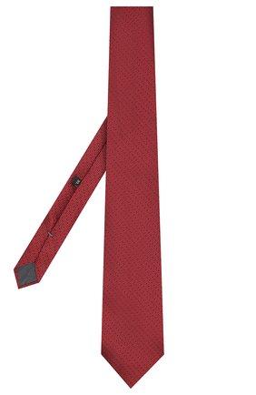 Мужской шелковый галстук ERMENEGILDO ZEGNA красного цвета, арт. Z6E04/1XW | Фото 2