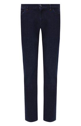 Мужские джинсы ZILLI темно-синего цвета, арт. MCS-00028-SSBC1/R001/AMIS | Фото 1