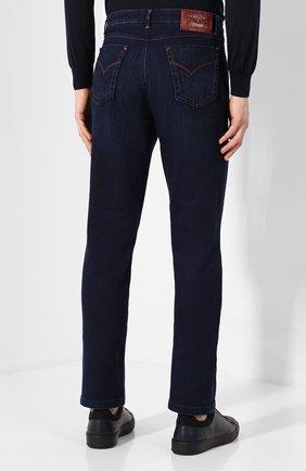 Мужские джинсы ZILLI темно-синего цвета, арт. MCS-00028-SSBC1/R001/AMIS | Фото 4