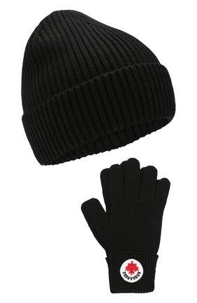 Комплект из шапки и перчаток   Фото №1