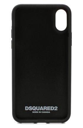 Мужской чехол для iphone x DSQUARED2 черного цвета, арт. ITM0051 35802197 | Фото 2