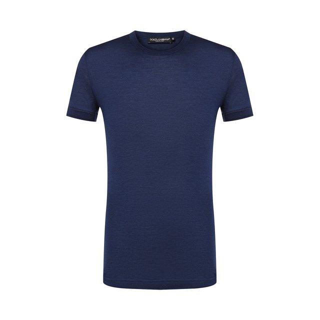 Шелковая футболка Dolce & Gabbana