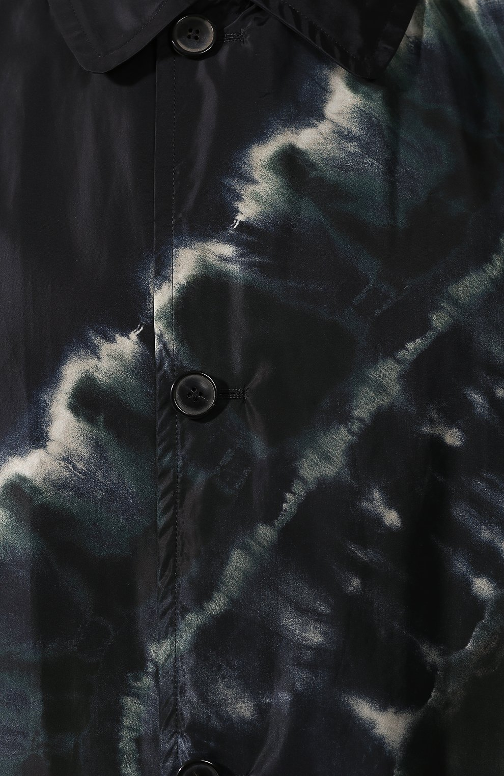 Мужской двусторонний плащ DRIES VAN NOTEN темно-синего цвета, арт. 192-20236-8082 | Фото 5