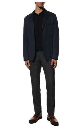 Мужские кожаные оксфорды BERLUTI коричневого цвета, арт. S4161-002 | Фото 2