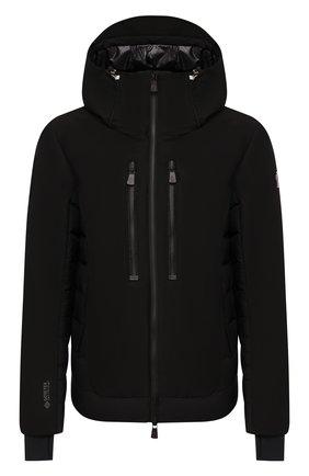 Мужская пуховая куртка MONCLER черного цвета, арт. E2-097-41890-85-C0198 | Фото 1