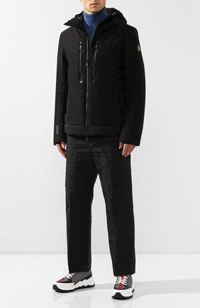 Мужская пуховая куртка MONCLER черного цвета, арт. E2-097-41890-85-C0198 | Фото 2