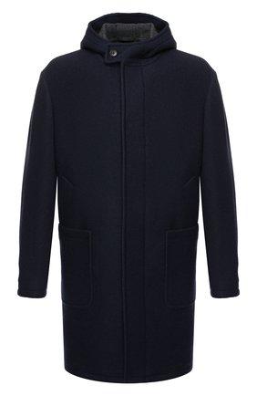 Мужской шерстяное пальто Z ZEGNA темно-синего цвета, арт. 689730/4DY4G0 | Фото 1