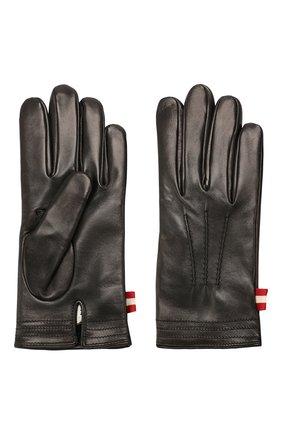 Мужские кожаные перчатки BALLY черного цвета, арт. M9P0027L-1S016/00 | Фото 2