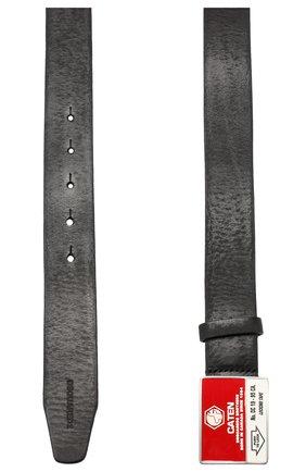 Мужской кожаный ремень DSQUARED2 черного цвета, арт. BEM0222 12900001 | Фото 2