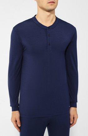 Мужская пижама ERMENEGILDO ZEGNA синего цвета, арт. N6H030890 | Фото 2