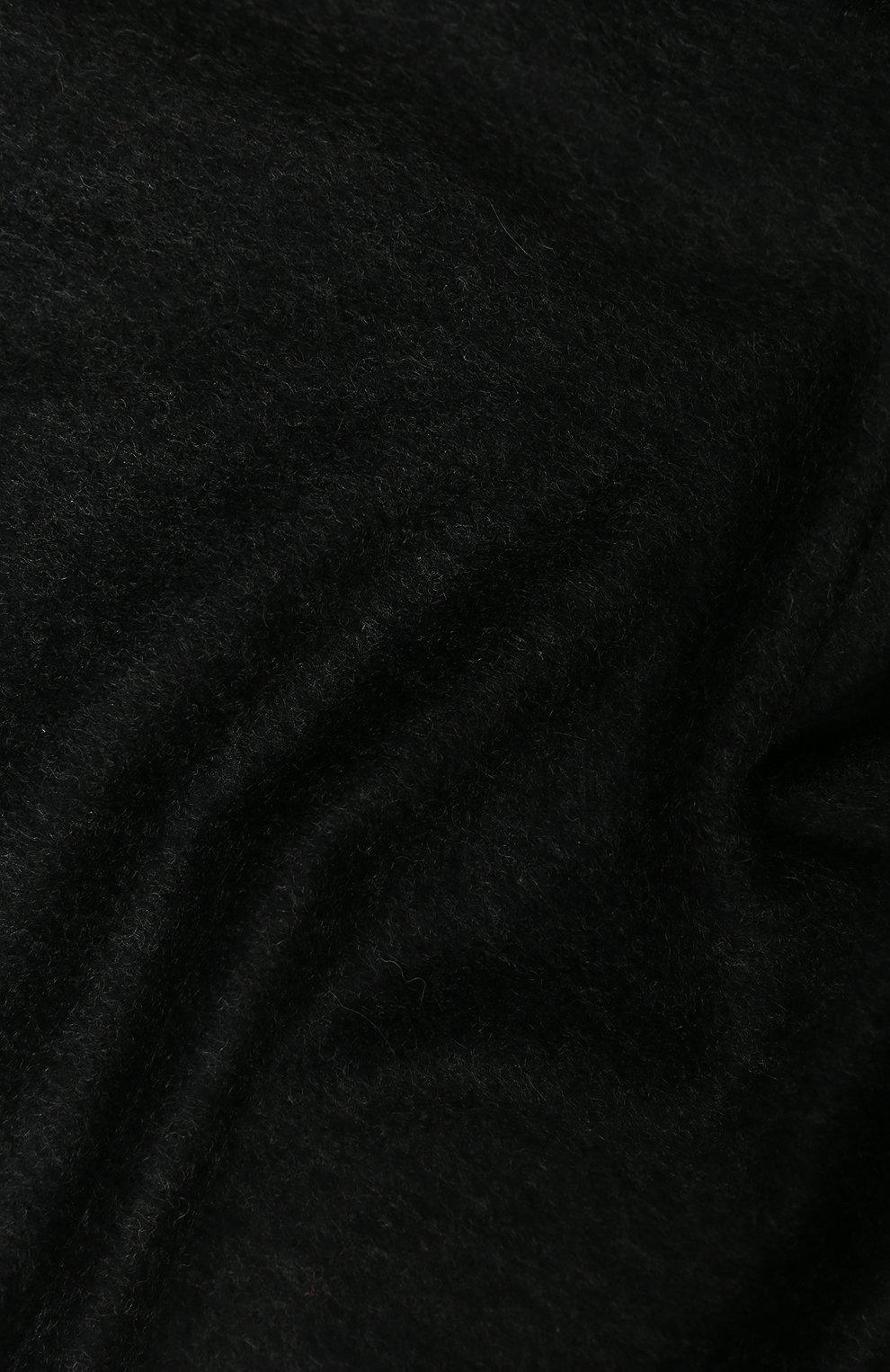 Мужской кашемировый шарф AD56 серого цвета, арт. 64200   Фото 2