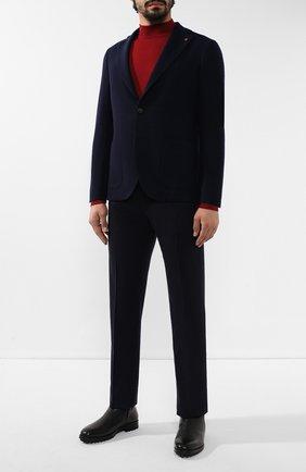 Мужской шерстяной пиджак SARTORIA LATORRE темно-синего цвета, арт. C0M0 JA2062 | Фото 2