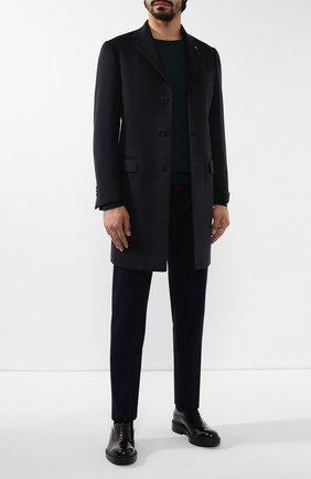 Мужской кашемировое пальто SARTORIA LATORRE темно-синего цвета, арт. A0STA U6069X | Фото 2