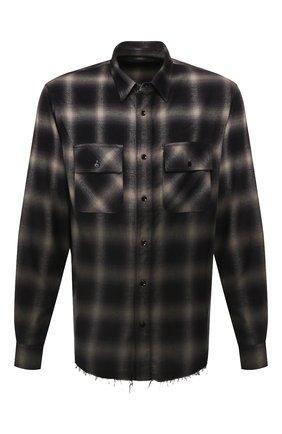 Рубашка из смеси хлопка и вискозы | Фото №1