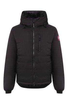 Мужская пуховая куртка lodge CANADA GOOSE черного цвета, арт. 5078M | Фото 1