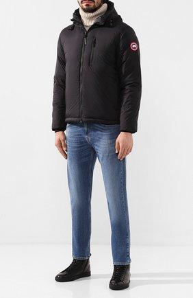 Мужская пуховая куртка lodge CANADA GOOSE черного цвета, арт. 5078M | Фото 2