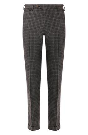 Мужской шерстяные брюки BERWICH темно-коричневого цвета, арт. VULCAN0/FA1553X | Фото 1