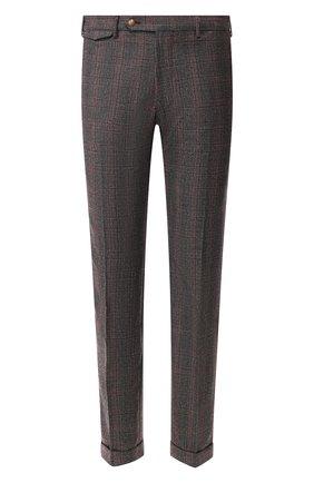 Мужской шерстяные брюки BERWICH бордового цвета, арт. VULCAN0/FA1354X | Фото 1