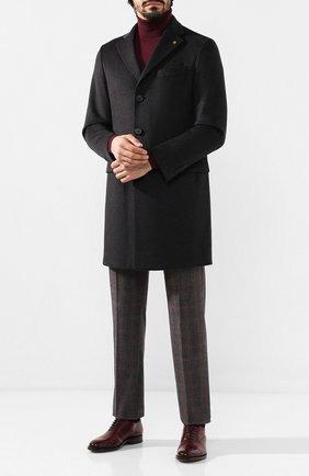 Мужской шерстяные брюки BERWICH бордового цвета, арт. VULCAN0/FA1354X | Фото 2