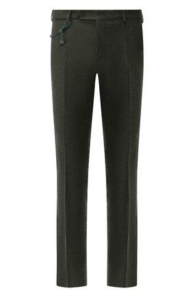Мужской шерстяные брюки BERWICH зеленого цвета, арт. SC/1 ALC/RD5470 | Фото 1