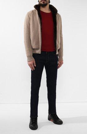 Кашемировая куртка c меховой подкладкой | Фото №2