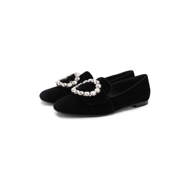 Текстильные слиперы Jackie Dolce & Gabbana — Текстильные слиперы Jackie