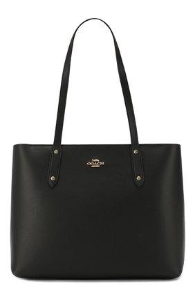 Женская сумка-тоут central COACH черного цвета, арт. 69424 | Фото 1