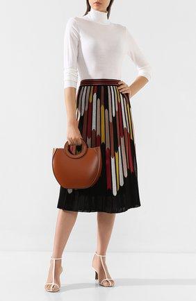 Женская сумка frida mini STAUD коричневого цвета, арт. 07-9172 | Фото 2
