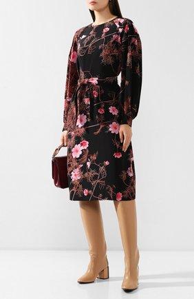 Женские кожаные сапоги CASADEI бежевого цвета, арт. 1S013N06THT0096A462 | Фото 2